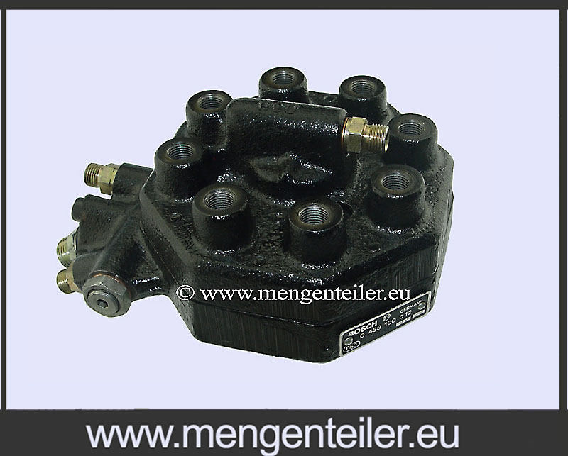 0438100089 | 0 438 100 089 Fuel Distributor 👉 Regenerated 👈 Bosch | Mercedes Benz  - mengenteiler.eu